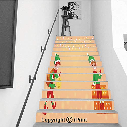 Staircase Stickers Wallpaper Indoor Decorations 39.3