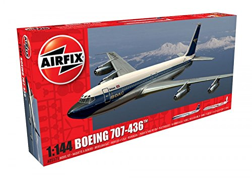 Airfix A05171 Boeing 707 1:144 Commercial Airliner Plastic Model Kit