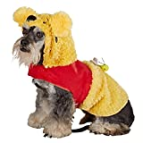 Disney Pooh Bear Dog Costume - Size Small