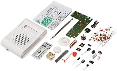 LaDicha Diy Portable Am Fm Radio Kit 76-108 Mhz 525-1605Khz Adecuado Para La Ense/ñanza Electr/ónica Y El Aprendizaje