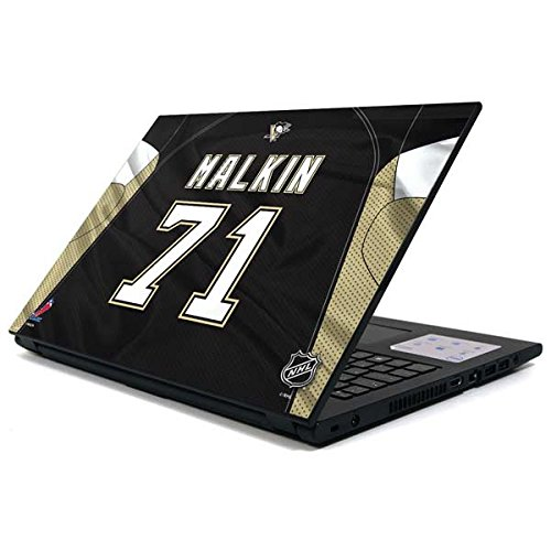 (Skinit NHL Pittsburgh Penguins Inspiron 15 3000 Series Skin - Pittsburgh Penguins #71 Evgeni Malkin Design - Ultra Thin, Lightweight Vinyl Decal Protection)
