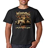 Classic Car T Shirt The Rodfather Old School Rules The Asphalt Mens Tee S-5XL