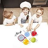 KIDAMI 11 Pieces Kitchen Pretend Toys Mini