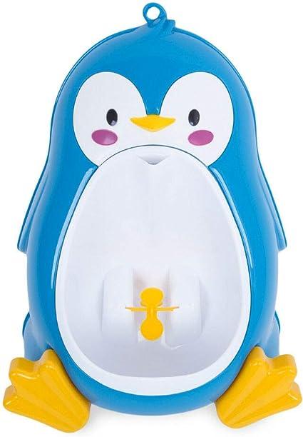 Pceewtyt B/éB/é Gar?On les Toilettes Pot Pingouin de Formation Stand Enfants Urinoir Vertical Gar?Ons Pee Infant Toddler Mural Bleu