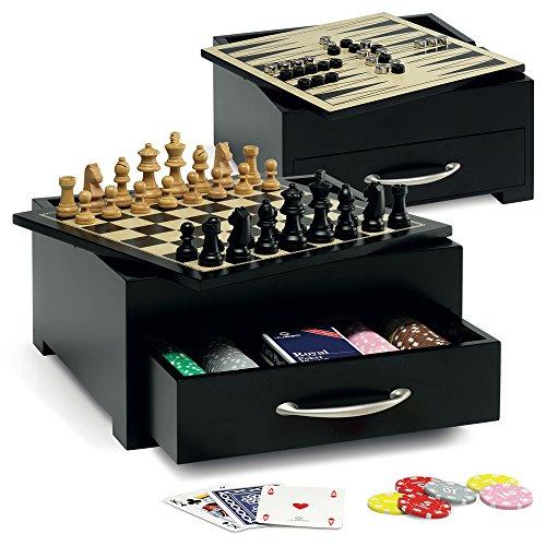 Juego Game Set mesa I tablero incluye Ajedrez, Dama ...