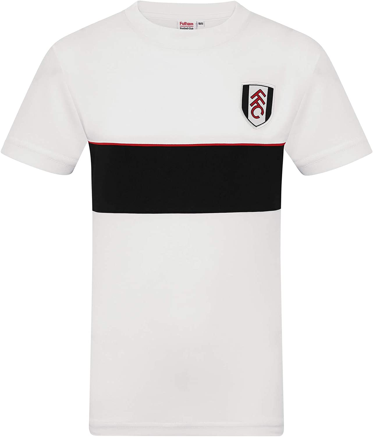 Fulham FC Official Soccer Gift Mens Poly Training Kit T-Shirt