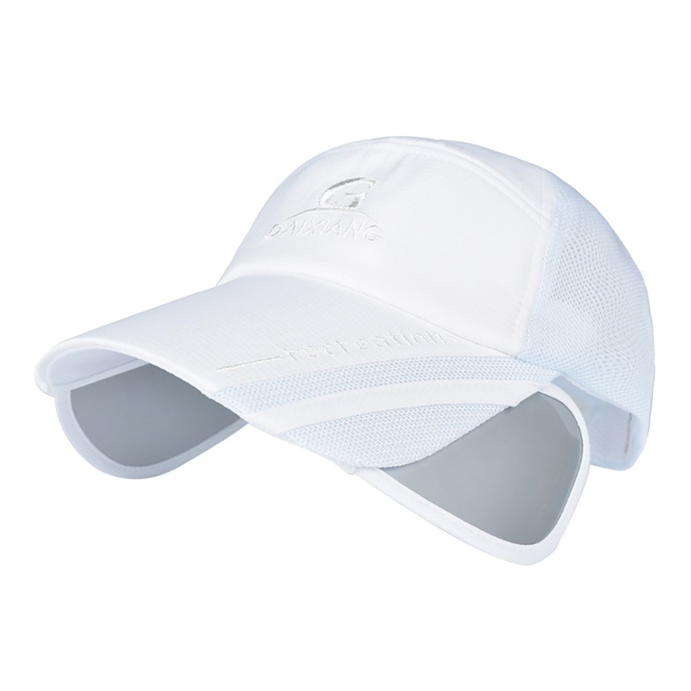 de5f06d8168 Hankyky Unisex Sun Hat Men Women Cotton Mesh Adjustable Sunshade Cap for  Outdoor Fishing Hiking Travel  Amazon.co.uk  Clothing