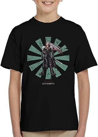 Cloud City 7 Sephiroth Retro Japanese Final Fantasy Kid's T-Shirt