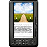 Ematic EB106 7-Inch 4GB Storage 256mb Ddr2 Ram Color Display eBook Reader and MP3 Video Player - Black