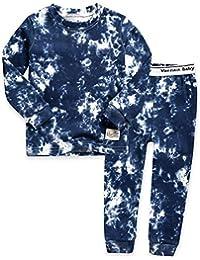Vaenait Baby Boys Toddler Girls Pajamas Pyjamas 100% Cotton 12M-12 Unisex Sleepwear