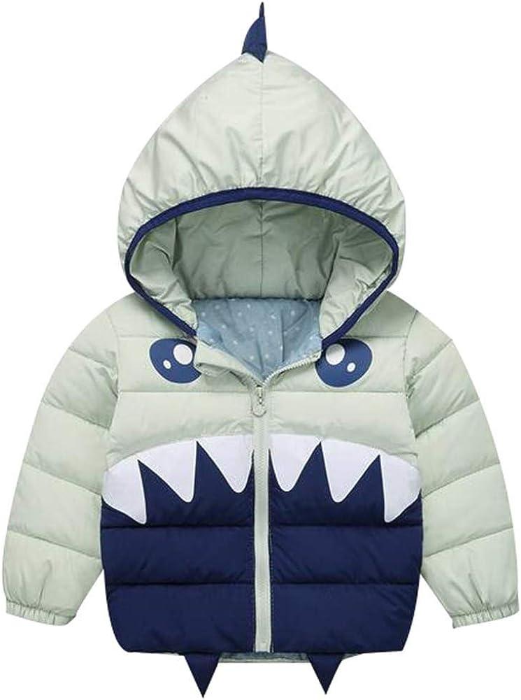 Happy childhood Baby Boys Girls Winter Warm Jacket Cartoon Coat Puffer Down Outwear Outfit