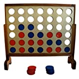 Yard Games Us Giant Wooden Board 4 In A Row Game