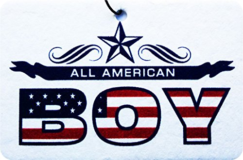 ALL AMERICAN BOY CAR AIR FRESHENER