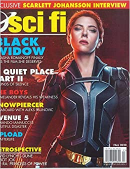 SCI FI MAGAZINE Fall 2020 Black Widow Scarlett Johansson Interview
