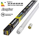 ENERGIZER HighTech T8 Led Tube - Retrofit Fluorescent Tube Replacement - Includes Starter (5ft - 1500mm 22w (58w Replacement), 6000k - Daylight)