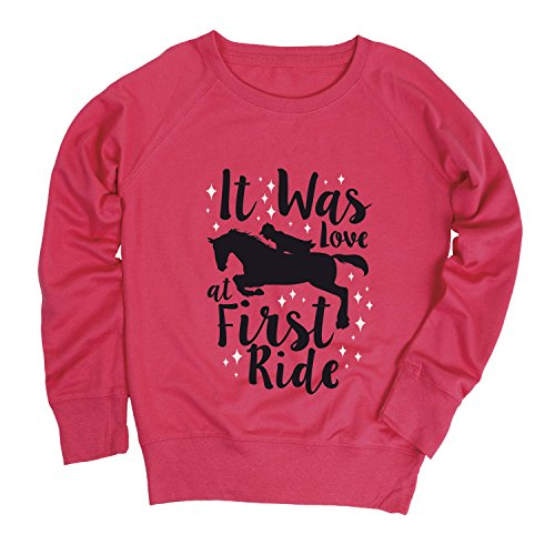 Youth Horse (It Was Love at First Ride -Youth Girls Slouchy Ft-M)