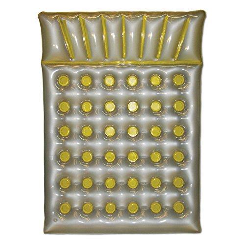 UPC 034261108847, Poolmaster Yellow Double French Pocket Mattress