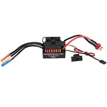 Amazon com: Dilwe Brushless Motor 1/10, 45A 60A Rcharlance