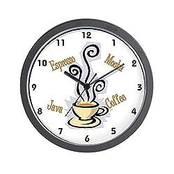 CafePress Coffee Themed Wall Clock - Standard Multi-color