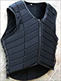 HILASON ADULT SAFETY EQUESTRIAN EVENTING PROTECTIVE PROTECTION VEST LRG