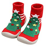 Zanuy Toddler Girls Boys Socks Shoes Moccasins Anti-Slip Slipper Floor Breathable Cotton Childrens Indoor Outdoor Socks