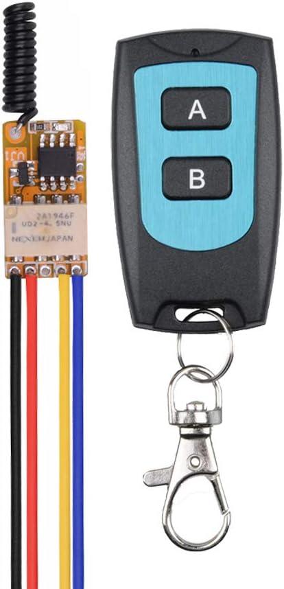 433MHz DC9V-12V 1CH Wireless Remote Control Switch Mini Relay LED Board
