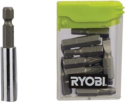 Ryobi RAK16FP - Juego de puntas de destornilladores (tamaño: 25mm ...