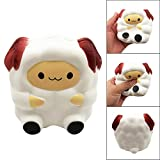 Finance Plan Cartoon Cute Sheep,Squishy Slow Rising