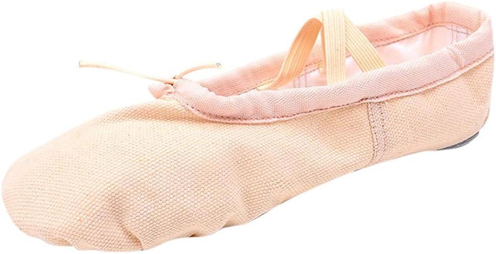 Women Canvas Jazz Ballet Dance Shoes Lace Up Ankle Boots Gymnastic Plus Size