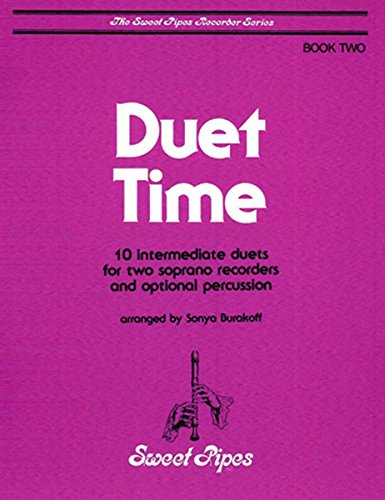 SP2322 - Duet Time Book 2 - 10 Intermediate Duets for Two Soprano (Duet Recorder)