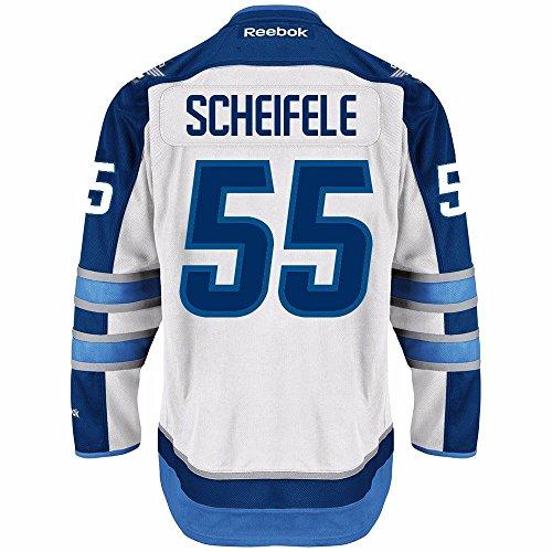 Reebok Mark Scheifele Winnipeg Jets NHL Men's White 2016-17 Premier Jersey (M)