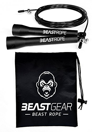 Beast Rope by Beast Gear – Speed Skipping Rope for Fitness, Conditioning...