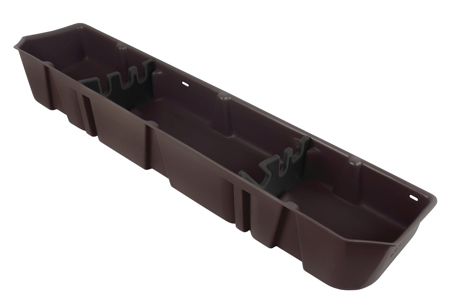 DU-HA Under Seat Storage Fits 15-17 Ford F-150 SuperCrew, Java/Brown, Part #20113