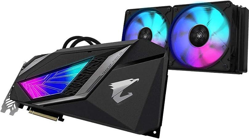 Gigabyte Aorus GeForce RTX 2080 Super Waterforce GV-N208-SAORUS W-8GC, 8G Tarjeta de video refrigeración agua y freón