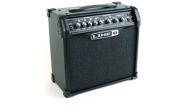 Amplificador guitarra Line 6 Spider II: Amazon.es: Instrumentos musicales
