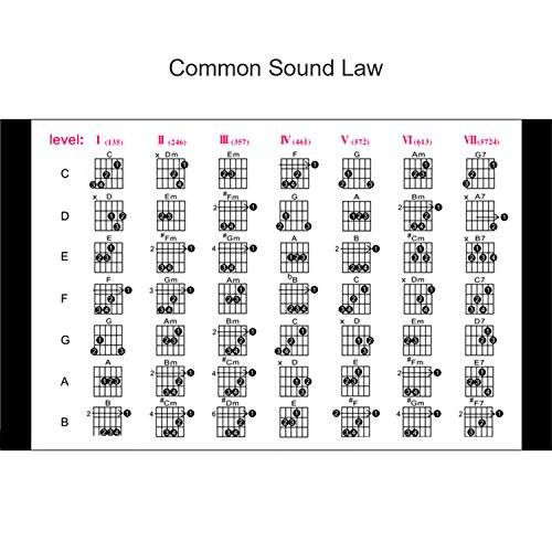 Xcellent Global Portable Pocket Guitar Chords Scales Fingers Practice by Xcellent Global (Image #6)