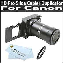 HD Pro Slide Copier Duplicator FITS Canon EOS 52MM\58MM Filter Thread + MicroFiber Cloth