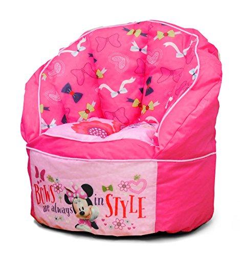 Disney Minnie Toddler Bean Bag Chair, Pink Bean Bag Chair