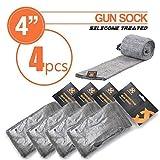 Hunter XHUNTER 4 x GUN SOCK COVER SILICONE TREATED 52'' HUNTING RIFLE SHOTGUN PROTECTION