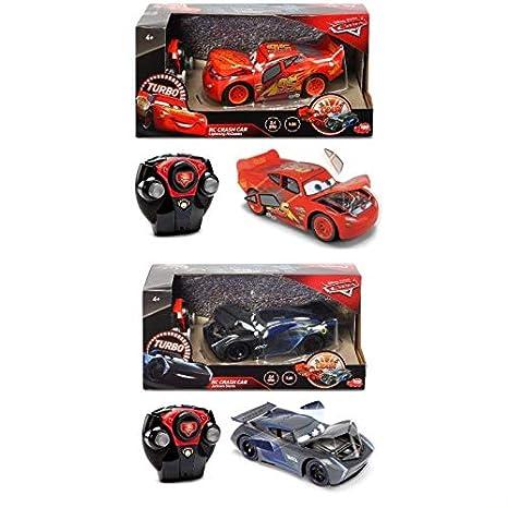 Dickie Cars RC Crash Jackson Storm coche radiocontrol, +4 años (Dickie 3084019) + coche radiocontrol, +4 años: Amazon.es: Juguetes y juegos