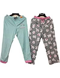 9a6fe994a6a8 ST Eve Girl's Sleep Pant 2-Pack (Turq/Gray)