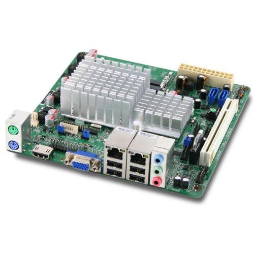 Jetway NC9KDL-2550 Intel Atom D2550 Dual LAN Mini-ITX Motherboard w/HDMI & LVDS 1080P