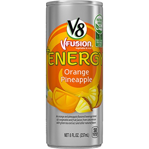 V8 Energy Orange Pineapple Packaging product image