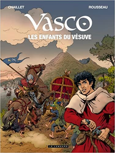 Vasco - tome 25 - Les Enfants du Vésuve