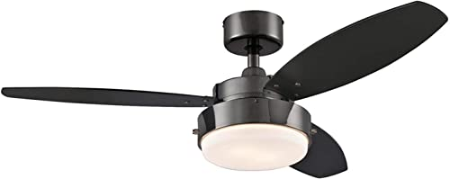Lighting Alloy 42-Inch Gun Metal Indoor Ceiling Fan