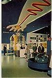 Monsanto Hall of Chemistry On the Move to the Future - Tomorrowland - Disneyland (Vintage Chrome Souvenir Postcard)