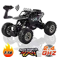 1/12 Scale Design:Our RC cars are more original and realistic. Health materials: The car body is made of high quality ABS material.Zero damage to children. The introduction of advanced materials makes it more resistant to collisions.2.4 GHz W...