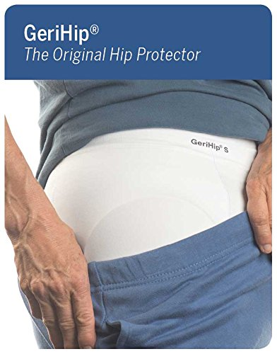 Protector Hip (Prevent Products, Inc. | GeriHip® with PPI-RAP™ Hip Protector Set | Includes Hip Protector Pads & Seamless Brief - Regain Confidence Today!)