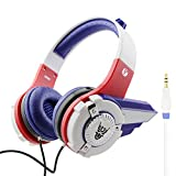 Kids Headphones By VCOM - Transformer Design - For iPad, Computer, Tablet, Smartphone - Suitable for 6-12 Years Old Children - Available in 3 Colors