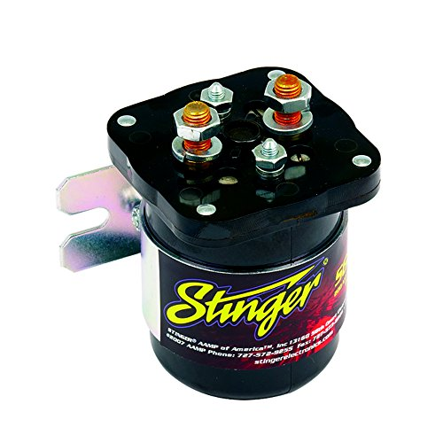 Car Audio Battery Isolator - Stinger SGP32 200 AMP Battery Relay Isolator and Relay